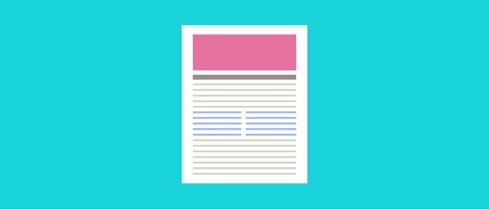 blog posts content