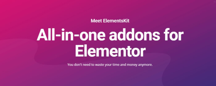 elements kit elementor plugins