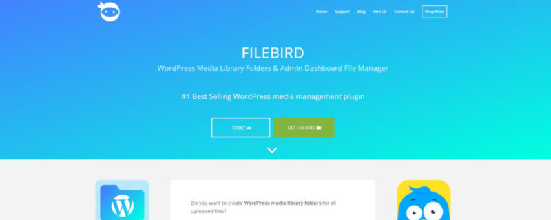 filebird orginizer