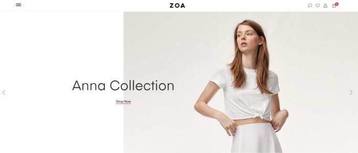 Zoa woocommerce themes
