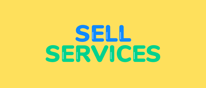 create and sell services
