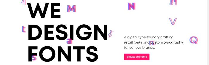 font design resources
