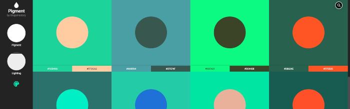 pigment color design