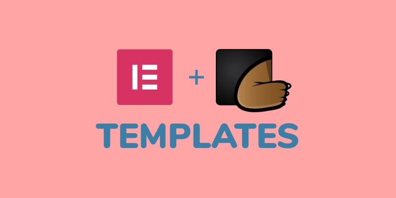 elementor template