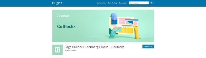 gutenberg plugins from godaddy