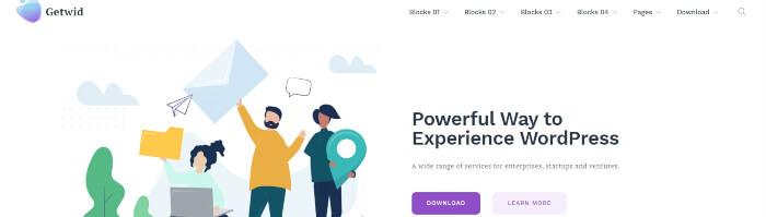 getwid blocks