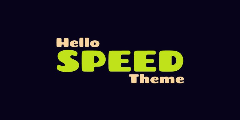 Hello Theme Speed: How Fast Is Elementor Theme