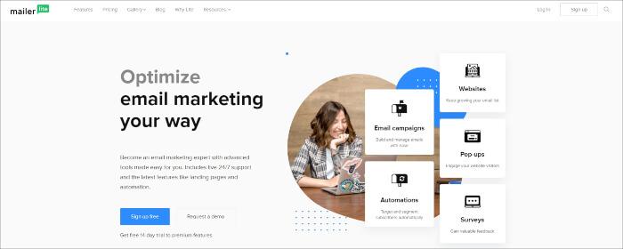 mailerlite email marketing plugin