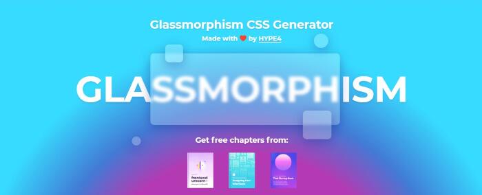glassmorphism design