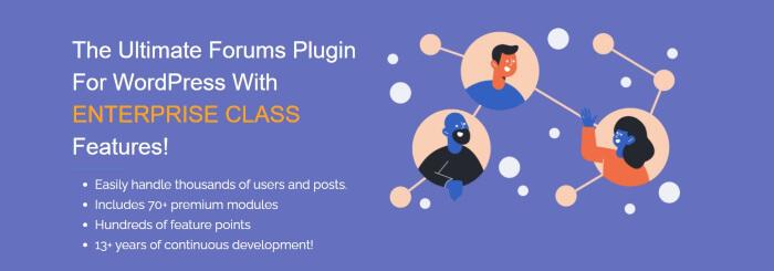 somplePress forum plugins