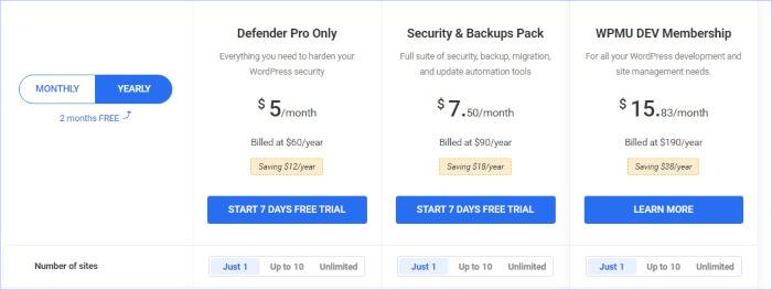 defender pro plugin pricing