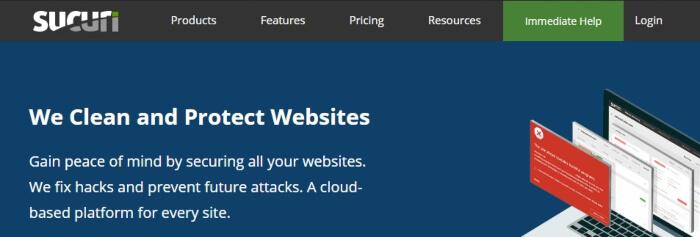 Sucuri malware protection