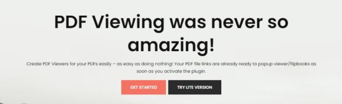 DearPDF WordPress plugin
