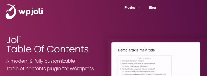 JoliWP plugins